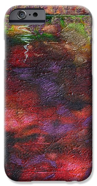 Storm Mixed Media iPhone Cases - Autumn Storm Passes iPhone Case by Donna Blackhall