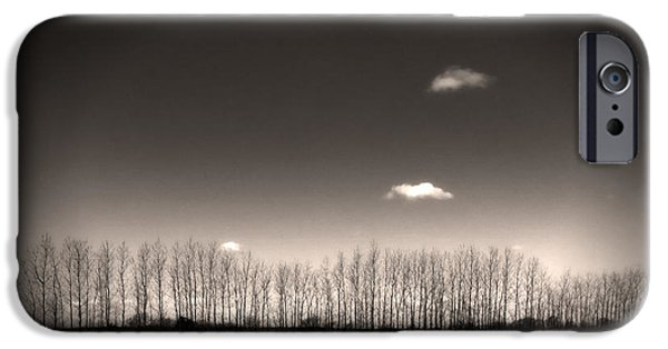 House Art Photographs iPhone Cases - Autumn Trees iPhone Case by Stylianos Kleanthous