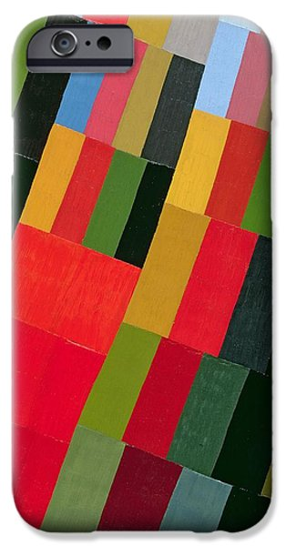 Abstractions iPhone Cases - Autumn Vision, 1935 Oil On Canvas iPhone Case by Otto Freundlich