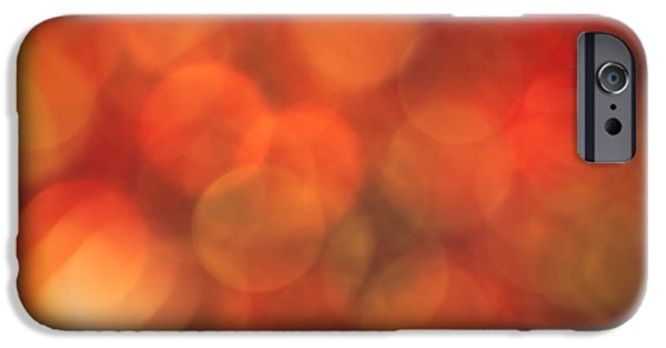 Vivid iPhone Cases - Autumnal Amber iPhone Case by Jan Bickerton