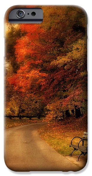 Autumn iPhone Cases - Autumns Abundance iPhone Case by Jessica Jenney
