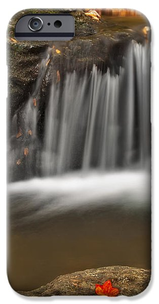Autumns Stream iPhone Case by Susan Candelario