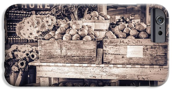 Farm Stand Photographs iPhone Cases - Avila iPhone Case by Caitlyn  Grasso