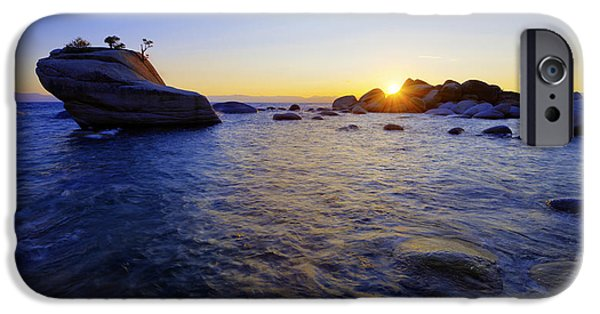 Evening iPhone Cases - Awaiting iPhone Case by Chad Dutson