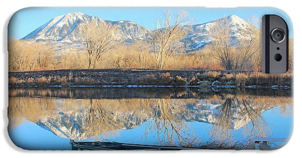 West Fork iPhone Cases - Awaiting Summer In Colorado iPhone Case by Dale Jackson