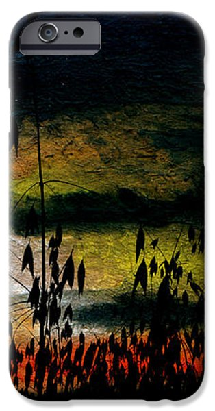 Awaiting the Harvest iPhone Case by R Kyllo