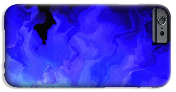 Print On Canvas iPhone Cases - Awake My Soul - Abstract Art iPhone Case by Jaison Cianelli