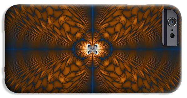 Abstract Digital Art iPhone Cases - Awakening iPhone Case by Joseph Pugliese