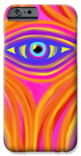 Awakening the Desert Eye iPhone Case by Daina White