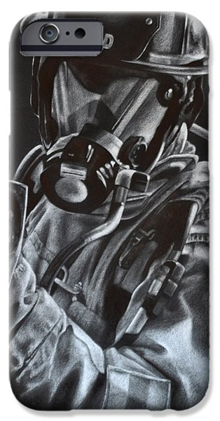 Gear Drawings iPhone Cases - Axe iPhone Case by Jodi Monroe