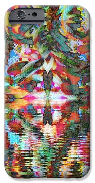 Abstract Forms iPhone Cases - Azteca iPhone Case by Candee Lucas