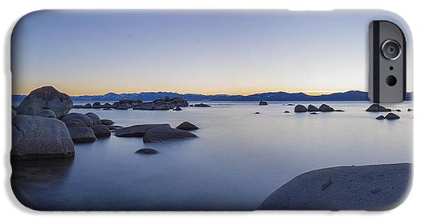 Lake Tahoe iPhone Cases - Azure iPhone Case by Jeremy Jensen