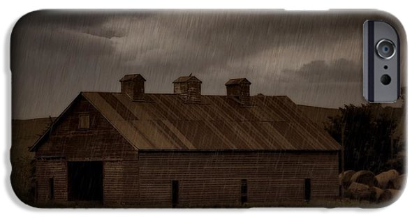 Rainy Day iPhone Cases - B141006 iPhone Case by Jim Hansen