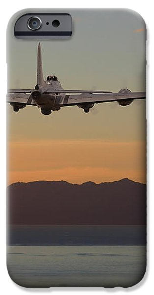 B17  Landfall iPhone Case by Pat Speirs