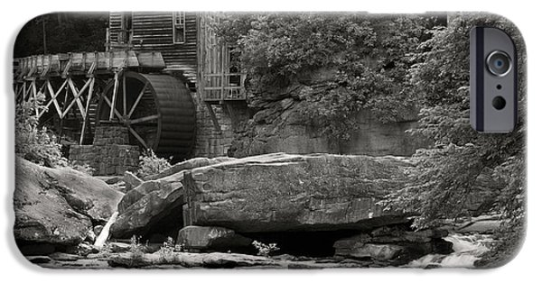 Grist Mill iPhone Cases - Babcock Grist Mill No. 1 iPhone Case by Jerry Fornarotto