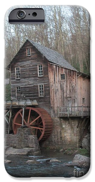 Grist Mill iPhone Cases - Babcock watermill iPhone Case by Dwight Cook