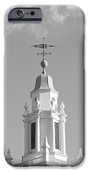 Babson College Tomasso Hall Cupola iPhone Case by University Icons