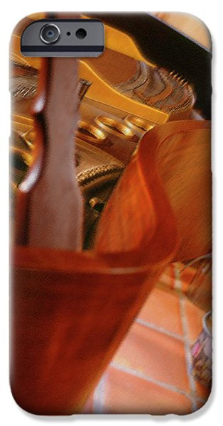 Piano iPhone Cases - Baby Grand iPhone Case by Mike McGlothlen