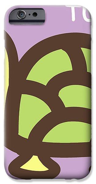 Baby Turtle Nursery Wall Art iPhone Case by Nursery Art