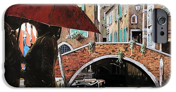 Dating iPhone Cases - Baci Tra Le Calli iPhone Case by Guido Borelli
