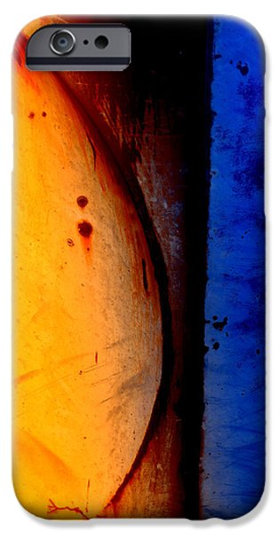 Back Against the Wall iPhone Case by Fran Riley