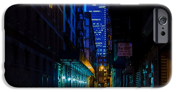 Pathway iPhone Cases - Back Alley Beauty iPhone Case by James Aiken