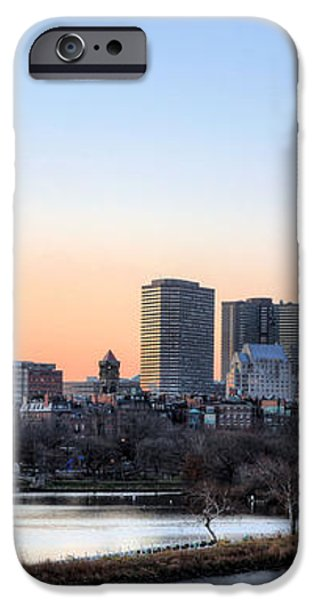 Back Bay Sunrise iPhone Case by JC Findley