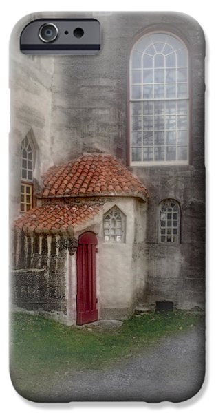 Back Door To The Castle iPhone Case by Susan Candelario