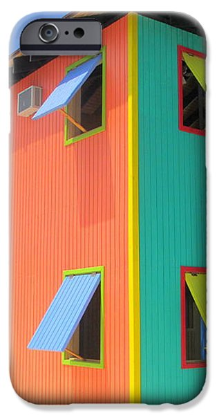 Back Of Cabins 1 iPhone Case by Randall Weidner