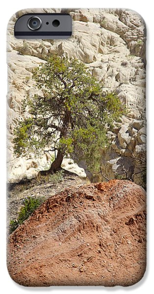 Red Rock iPhone Cases - Backroads Utah 5 iPhone Case by Mike McGlothlen