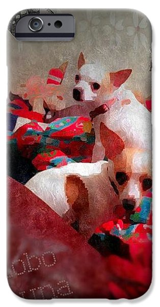 Dog Photograph Canvas iPhone Cases - Bad Dogs iPhone Case by Denisse Del Mar Guevara