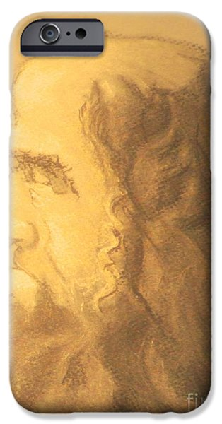 Epic Pastels iPhone Cases - Bad-eyes iPhone Case by Isaiah Diaz