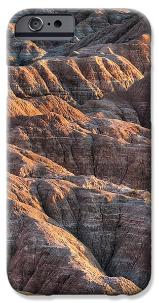 Badlands iPhone Cases - Badlands Light iPhone Case by Steve Gadomski