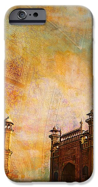 Badshahi Mosque iPhone Case by Catf