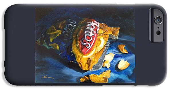 Recently Sold -  - Chip iPhone Cases - Bag of Chips iPhone Case by LaVonne Hand