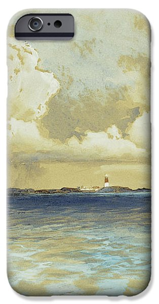 Bahama Island Light iPhone Case by Thomas Moran