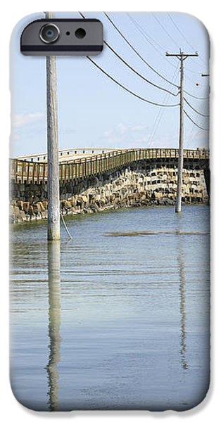 Bailey Island Bridge - Harpswell Maine USA iPhone Case by Erin Paul Donovan