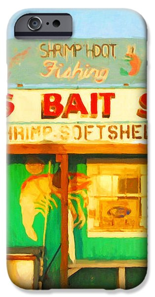 Bait Shop 20130309-1 iPhone Case by Wingsdomain Art and Photography