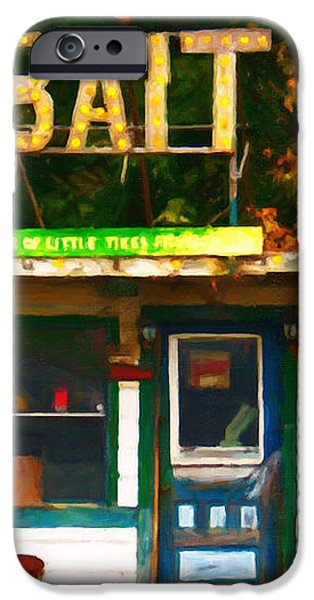 Bait Shop 20130309-3 iPhone Case by Wingsdomain Art and Photography