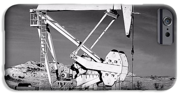 Recently Sold -  - Machinery iPhone Cases - Bakken iPhone Case by Jenny Hudson