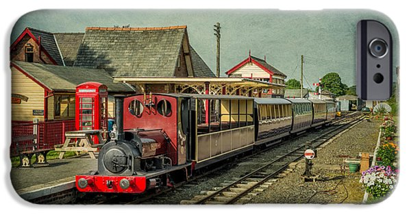 Steam Locomotive iPhone Cases - Bala Lake Railway iPhone Case by Adrian Evans