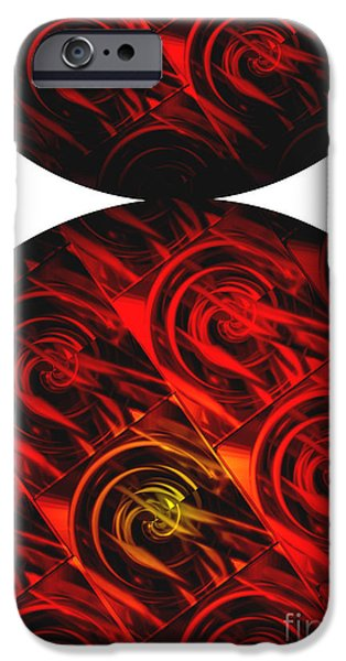 Abstract Digital Art iPhone Cases - Balance iPhone Case by Ann Powell