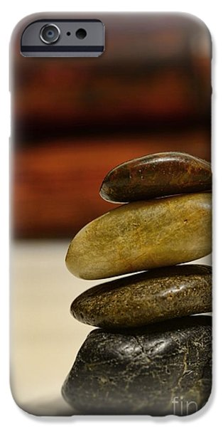 Inner Peace iPhone Cases - Balanced iPhone Case by Paul Ward