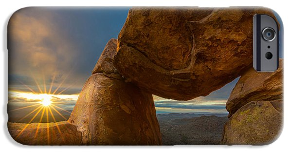 Epic iPhone Cases - Balanced Rock iPhone Case by Inge Johnsson