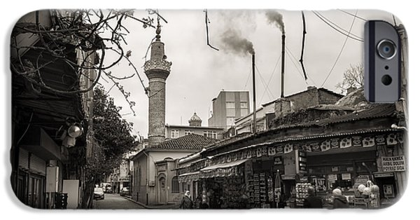 Balat iPhone Cases - Balat Neighborhood In Istanbul iPhone Case by For Ninety One Days