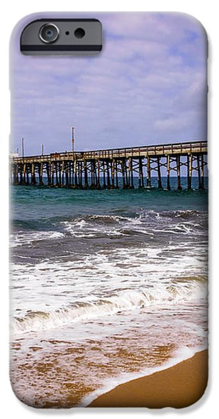 Balboa Pier in Newport Beach California iPhone Case by Paul Velgos