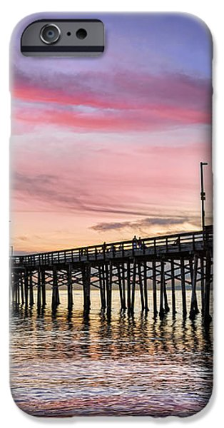 Balboa Pier Sunset iPhone Case by Kelley King