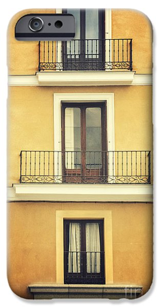 Spanish House iPhone Cases - Balconies iPhone Case by Margie Hurwich