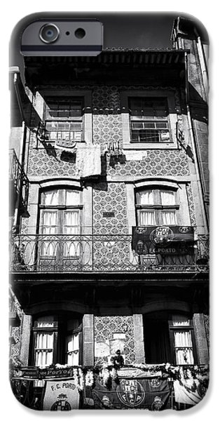 Balcony iPhone Cases - Balcony Designs in Porto iPhone Case by John Rizzuto
