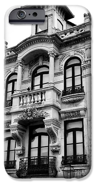 Balcony iPhone Cases - Balcony View in Aveiro iPhone Case by John Rizzuto